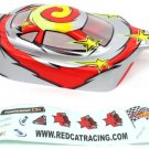 Redcat Racing 10714 1/10 Buggy Body Red and Silver  10714
