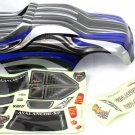 Redcat Racing 1/8 Truck Body Blue and Black  08705