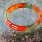 red and green agate bracelet-1