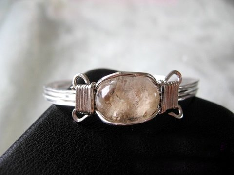 natural crystal bracelet-10