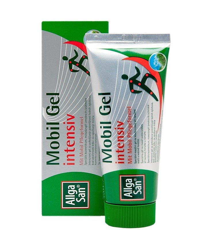 Back and joint pain, muscle pain ALLGA SAN Mobil Gel INTENSIVE 100 ml