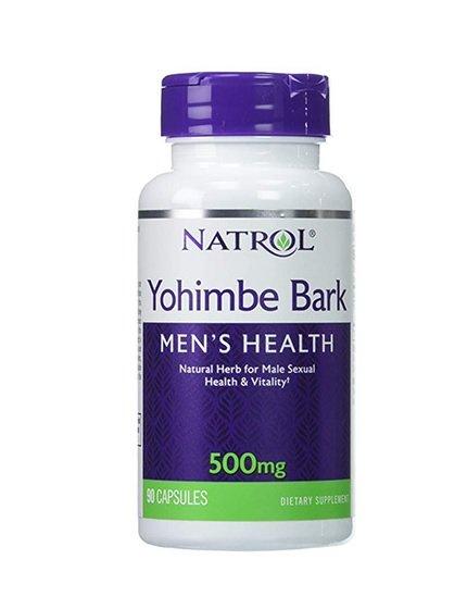 Yohimbe Bark 500 mg.90 Caps Libido stimulant Helps sexual function losing weight