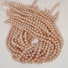 WE SELL QUALITY! 6.5mm-7mm High Grade, Off Round Natural Pink Freshwater Pearls