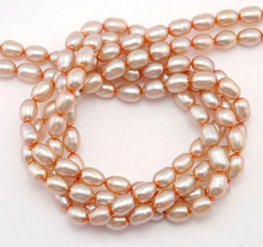 WE SELL QUALITY! 4-5mm GOLDEN PEACH FRESHWATER PEARLS