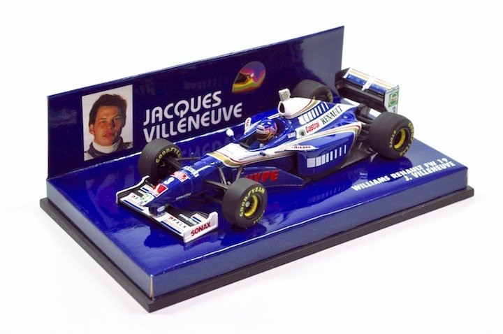 "Minicamps 430970003 Williams Renault FW19 ""Jacques Villenueve"" F1 World Champion 1997"