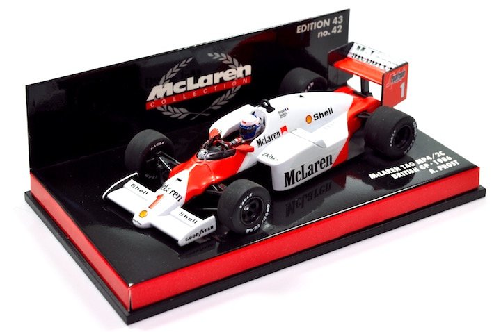 Minchamps 530864301 McLaren MP4/2C 'Alain Prost' F1 World Champion 1986