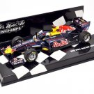 Minichamps 410110001 Redbull Racing Renault RB7 'Vettel' F1 World Champion 2011
