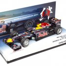 Minichamps 413110301 Red Bull Racing RB7 #1 'Vettel' F1 World Champion 2011