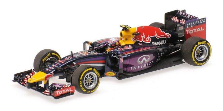 Minicamps 410140103 Infiniti Red Bull Racing RB10 #3 'Ricciardo' 1st pl Canadian GP 2014
