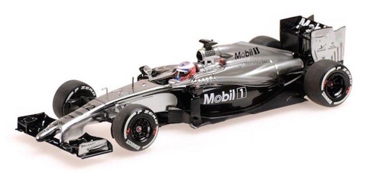Minichamps 530144322 McLaren Mercedes MP4-29 #22 'Button' 3rd Australian GP 2014