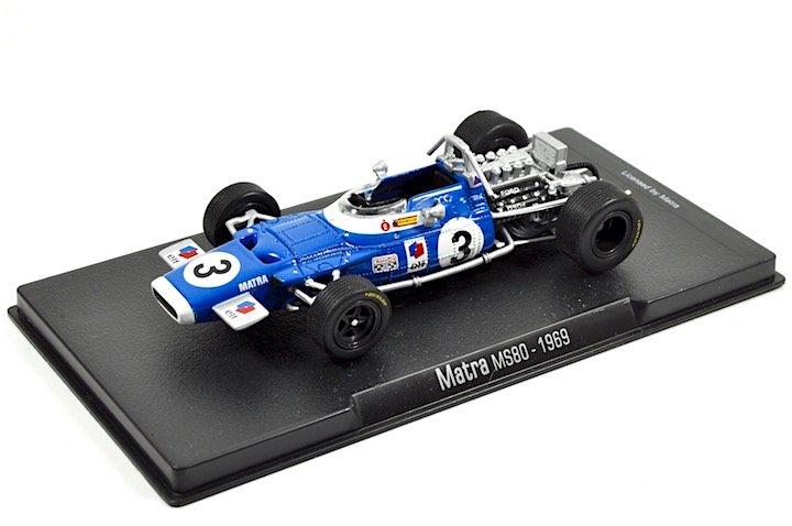 RBA Models 1370012 Matra MS80 #2 �Jackie Stewart� F1 World Champion 1969