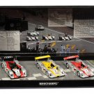 Minichamps 402020123 Audi R8 Audi Sport Team Joest Le Mans 2002 3 Car Box Set
