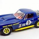 Exoto - Motorbox MTB00073 Corvette Sting Ray #9 Penske 1st in cl Sebring 1966