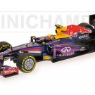 Minichamps 410130002 Infiniti Red Bull Racing RB9 #2 'Webber' F1 2013