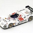 Spark Model 43LM97 TWR Porsche #7 'Alboreto-Johansson-Kristensen' 1st pl LM 1997