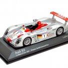 Minichamps 400011201 Audi R8 #1 'Biela - Kristensen - Pirro' 1st pl Le Mans 2001