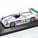 Minichamps 400051303 Audi R8 #2 'Ara - Capello - Kristensen' 1st pl Le Mans 2004