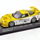 Minichamps AC4001464 Chevrolet Corvette C5-R #64 'Pilgrim - Collins - Freon' 10th pl Le Mans 2000