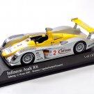 Minichamps 400021392 Audi R8 #2 'Capello - Pescatori - Herbert' 1st pl 12 hrs of Sebring 2002