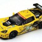 Spark Model S3728 Corvette C6 ZR1 #73 'Garcia – Magnussen – Taylor' 23rd pl Le Mans 2012