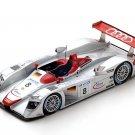 Spark Model 43LM00 Audi R18 Joest #8 'Biela - Kristensen - Pirro' 1st pl Le Mans 2000