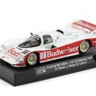 Slot.It SICA25c Porsche 962 #86 Budweiser 'Mass - Rahal' winner 12 hrs of Sebring 1987