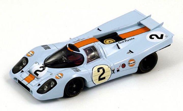 Spark Model 43DA71 Porsche 917 K #2 'Rodriguez - Oliver' 1st pl 24hr Daytona 1971