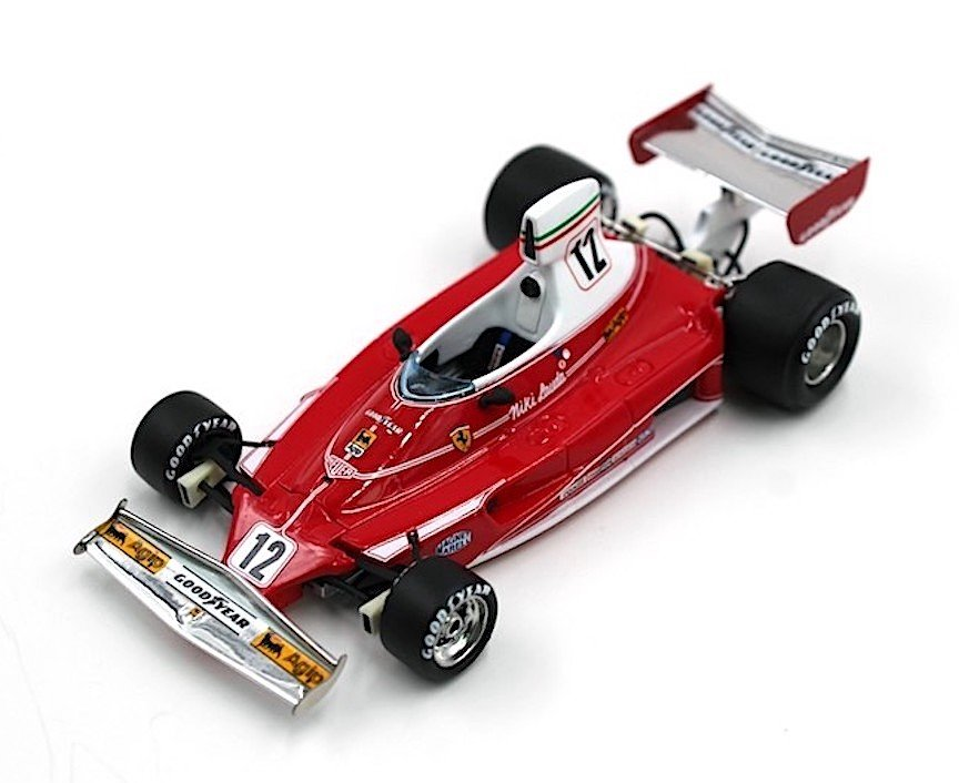 GP Replicas GP43-04A Ferrari 312 T #12 'Lauda' F1 1975