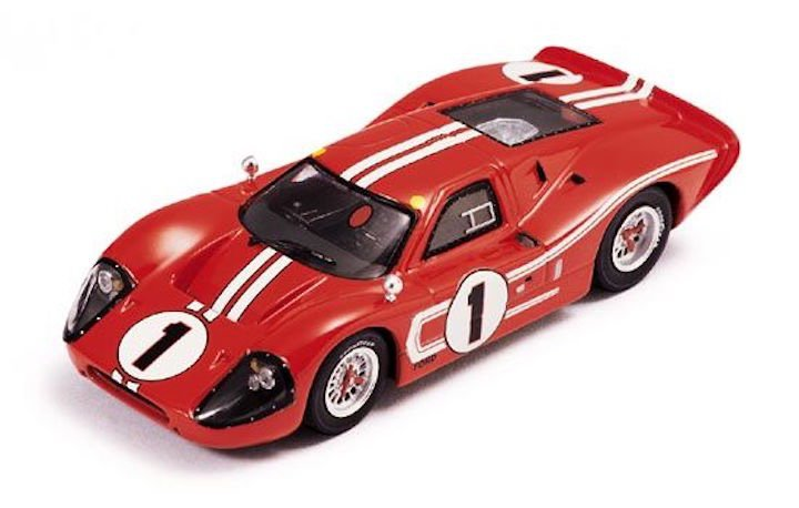 IXO Models LM1967 Ford Mk IV #1 'Dan Gurney - A.J. Foyt' 1st pl. Le Mans 1967