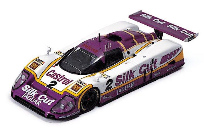 IXO Models LM1988 Jaguar XJR9 #2 Silk Cut 'Lammers - Dumfries - Wallace' 1st pl Le Mans 1988