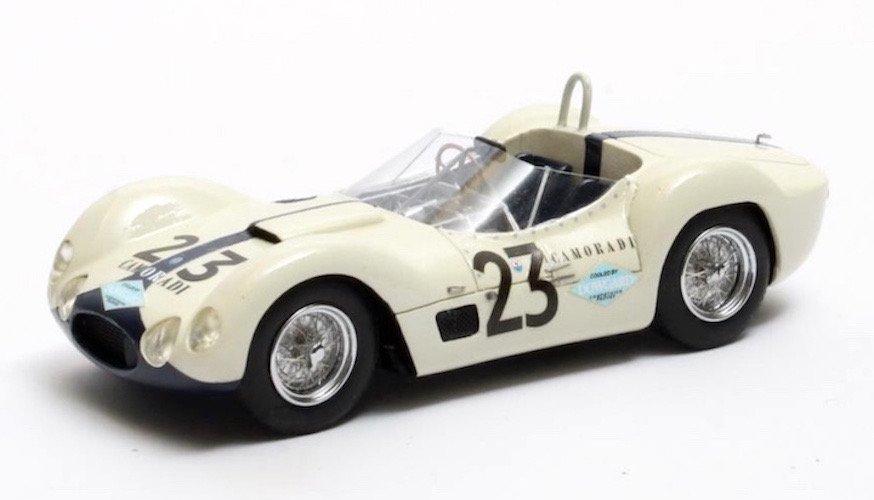 Matrix MXR41311-023 Maserati Tipo 61 Birdcage #23 'Moss - Gurney' 12hrs of Sebring 1960