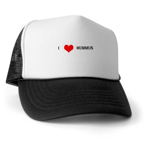 """I Love Hummus"" Trucker Hat"