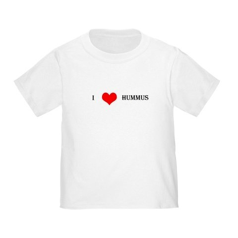 """I Love Hummus"" Infant/Toddler T-Shirt"