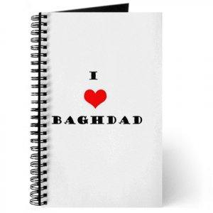 """""""I Love Baghdad"""" Journal"""