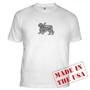 Islam / Muslim Lion Men's Fitted T-Shirt