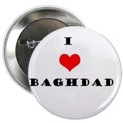 """I love Baghdad"" Button"