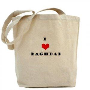 """I love Baghdad"" Tote Bag"