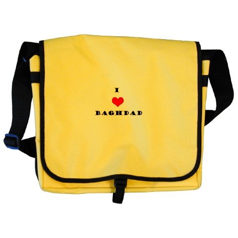 """I love Baghdad"" School Bag"