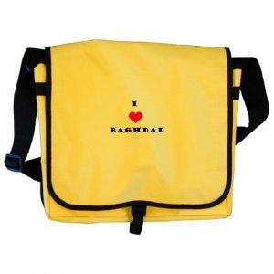 """I love Baghdad"" School Bag"