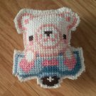 White Bear crossstitch magnet