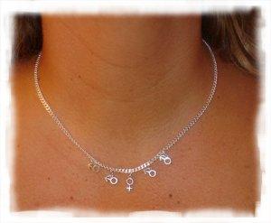 NKMF001 - Swingers M/F Necklace Jewelry