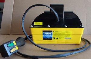 AIR HYDRAULIC PUMP 10,000 PSI W HAND PENDANT POWERS TO 50 TON CYLINDERS 2660-HP