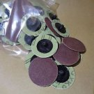 2 Inch Roll Lock sanding discs 80 GRIT high quality 50 pieces FREE SHIPPING SD80