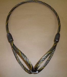 Auto body Clamp Cable pulling Sling Made in USA, 3/8 thick cable 770-141