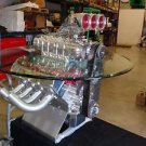 HEMI ENGINE TABLE CUSTOM HAND MADE ONE OF A KIND AWESOME DISPLAY OR PARTY  TABLE