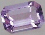 14x12mm (~8.14ct) Emerald Cut Africa Amethyst
