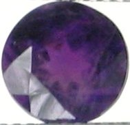 7mm (~1.95ct) Round Brilliant Africa Amethyst