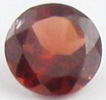 6mm (~0.77ct) Round Brilliant S. Africa Garnet
