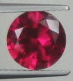 8mm (~2.35ct) Round Brilliant Sri Lanka Ruby