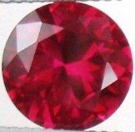 9mm (~3.58ct) Round Brilliant Sri Lanka Ruby